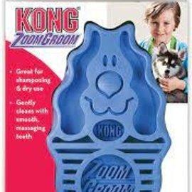 Kong Kong ZoomGroom Small Dog (Blue)