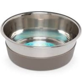Messy Mutts Messy Mutts Heavy Guage Bowl with Non-Slip Base (8 Cups ; Large)
