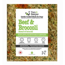 TOM & SAWYER Tom & Sawyer Frozen Dog -  Beef & Broccoli 454g