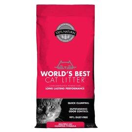 World's Best World's Best Cat Litter - Multicat Clumping (Red) 28lb