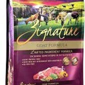Zignature Zignature Goat Formula Dog Food 4lb