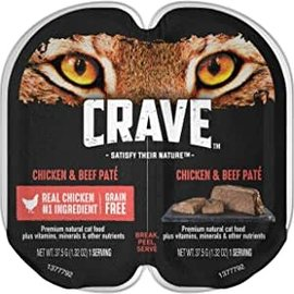 Crave Crave Pate - Chicken & Beef - 37.5g