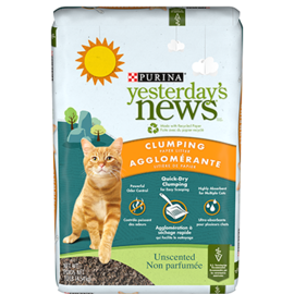 yesterdays new Yesterday's News Original Clumping Unscented Litter