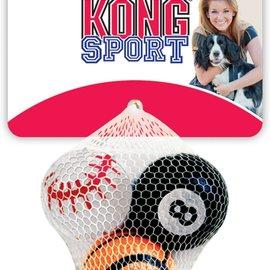 Kong Kong Sport Balls - Small - 3 Pack
