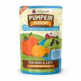 Weruva Pumpkin Patch Up! Pumpkin w/ Coconut & Flaxseeds - 2.8oz pouch