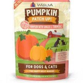 Weruva Pumpkin Patch Up! Pumpkin w/ Ginger & Turmeric 1.05oz Pouch