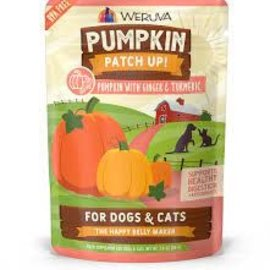 Weruva Pumpkin Patch Up! Pumpkin w/ Ginger & Turmeric 2.8oz Pouch