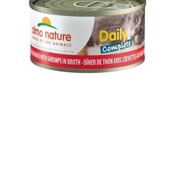 Almo Nature Almo Cat Nature Daily Complete Tuna w/ Shrimp Can 70g