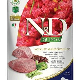 Farmina N&D Dog - Weight Management Quinoa & Lamb 15.4lb