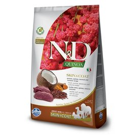 Farmina N&D Dog - Quinoa Skin & Coat Venison 15.4lb