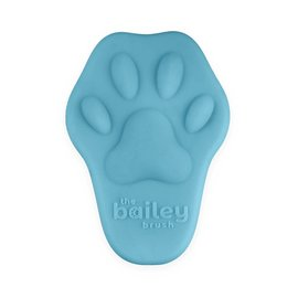 Bailey Cat Company The Bailey Brush - Silicone Cat Brush (Blue)