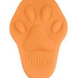 Bailey Cat Company The Bailey Brush - Silicone Cat Brush (Orange)