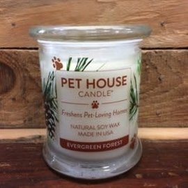 Pet House Candle Pet House - Evergreen Forest Pet Safe Candle 9oz