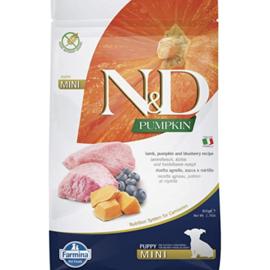 Farmina N&D Dog Dry - Pumpkin Mini Puppy Lamb & Blueberry 15.4lbs