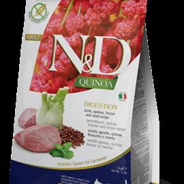 Farmina N&D Cat Dry - Quinoa Lamb& Quinoa Digestion Adult 11lba