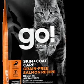 Go! Go! Solutions Cat Dry - Skin & Coat Grain-Free Salmon