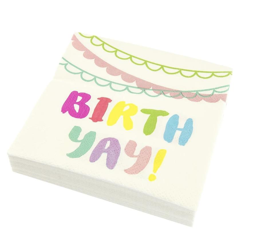 Birthday Banner Napkin