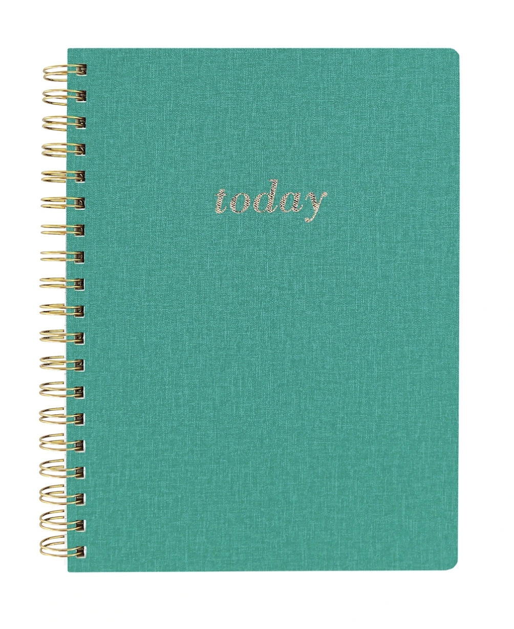 Green Today Spiral Vegan Leather Journal