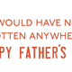 Dear Dad Card