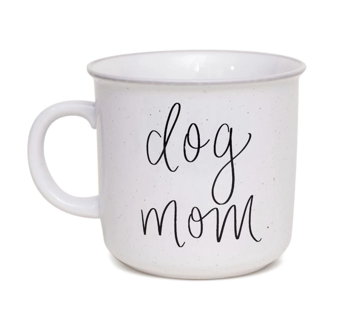 Dog Mom Campfire Mug
