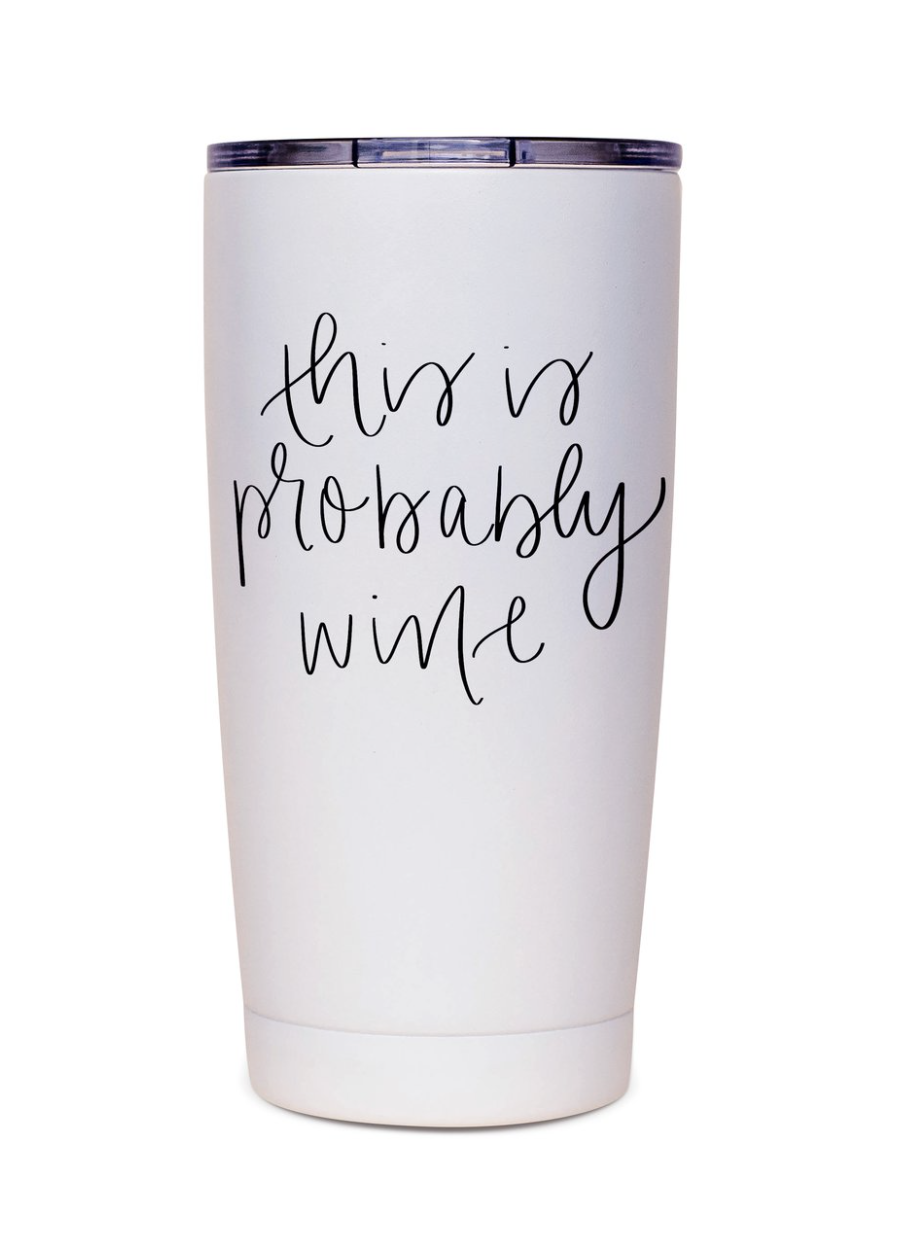 Wine Metal Travel Mug
