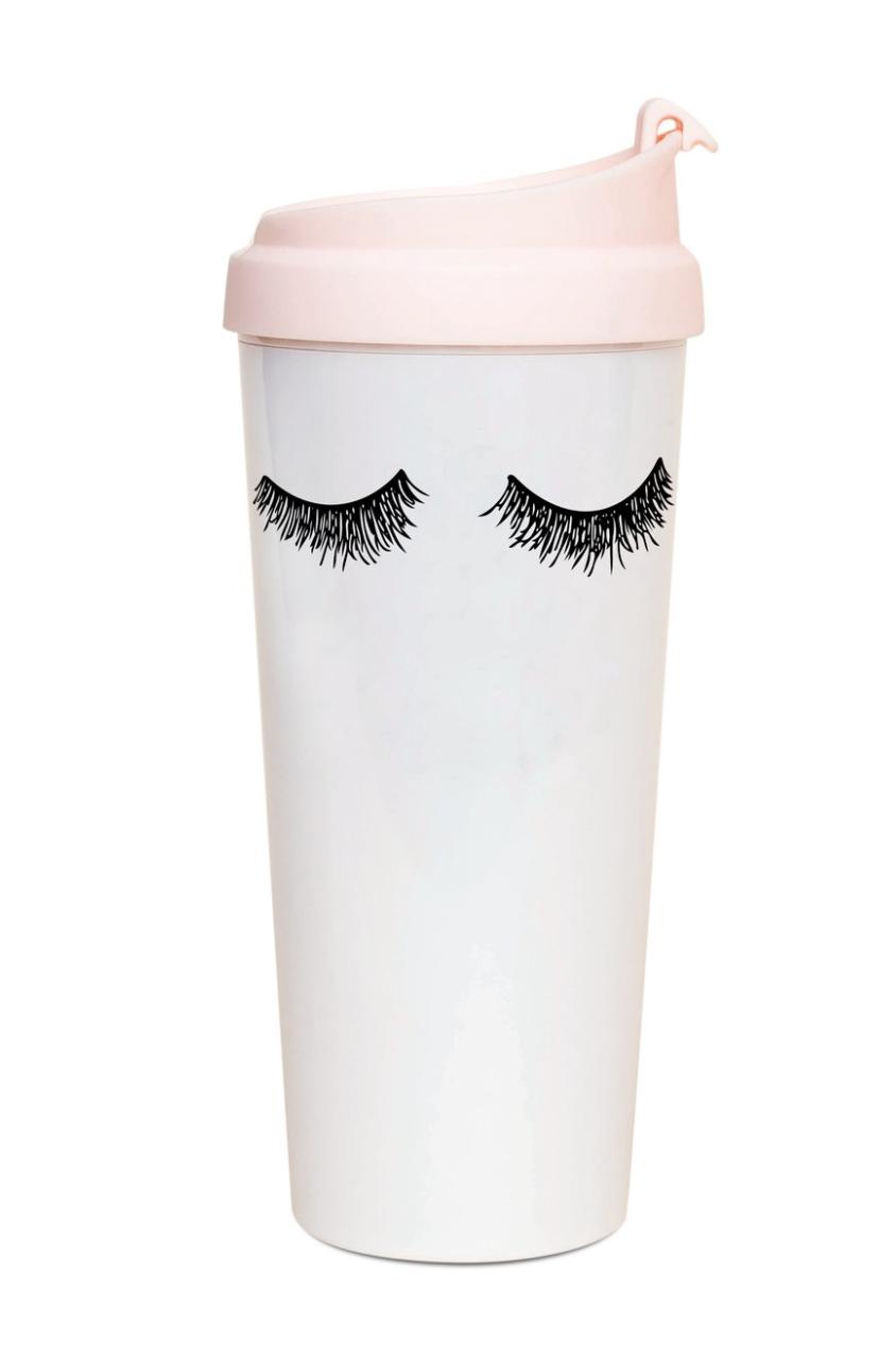 Eyelash Travel Mug