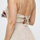 Floral Back Tie Dress