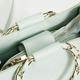 Chain Link Top Handle Satchel