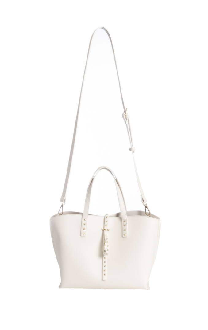 Studded Strap Tote