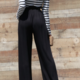 Striped Jumpsuit with Pocket