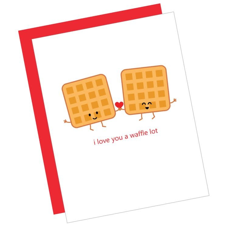 Love You Waffle Lot
