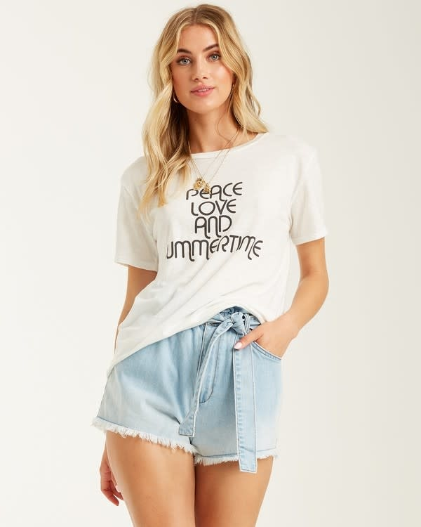 Peace and Summertime Tee