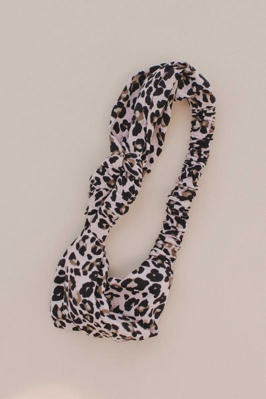 Blush Leopard Headband