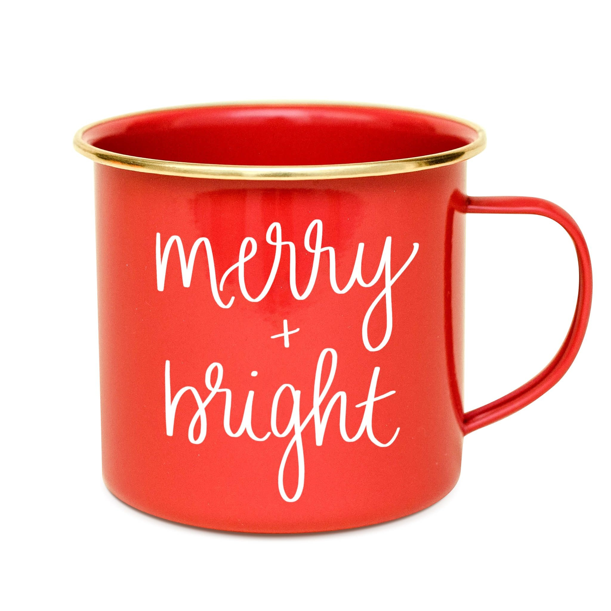 Merry & Bright Campfire Coffee Mug