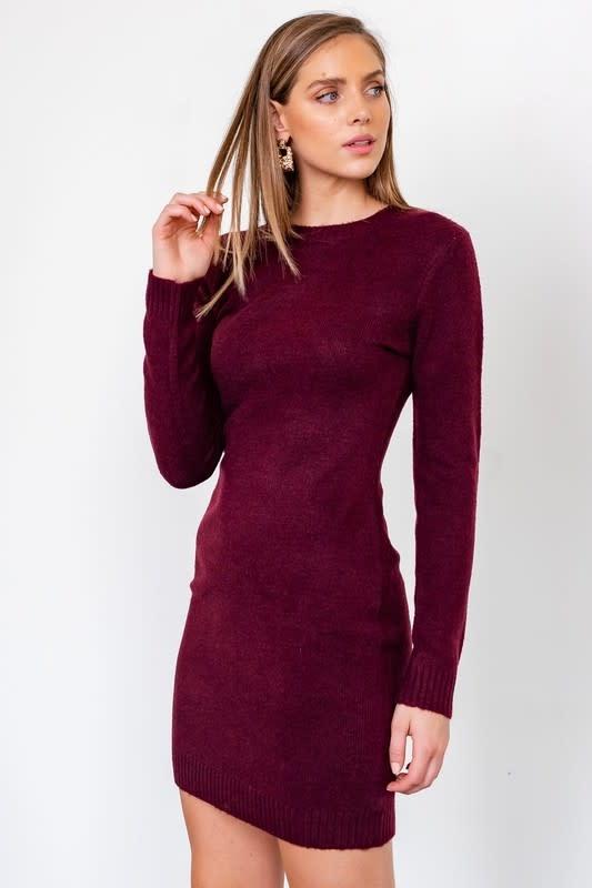 Bodycon Knit Mini Dress
