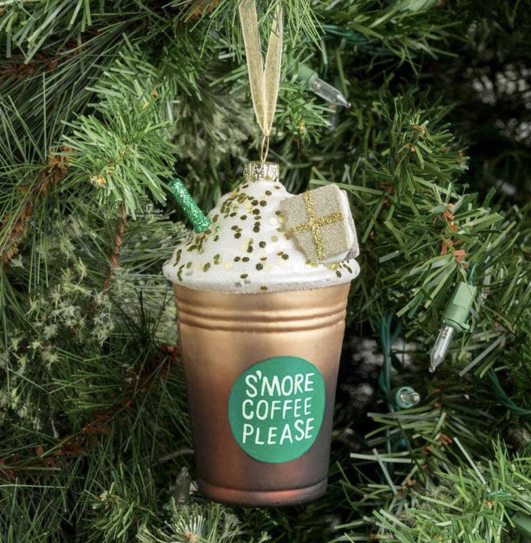 Smores Coffee Ornament