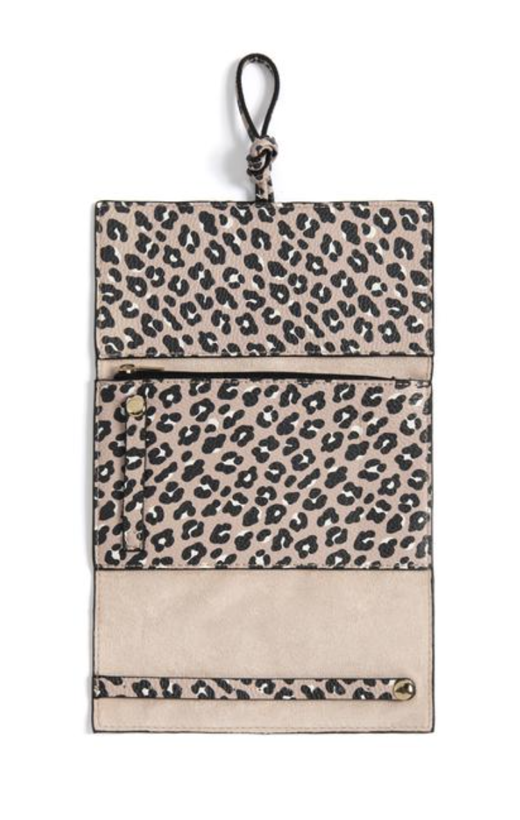 Lexington Jewellery Pouch Leopard