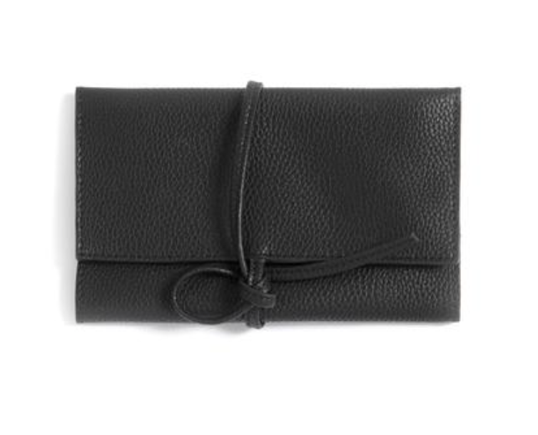 Lexington Jewellery Pouch Black