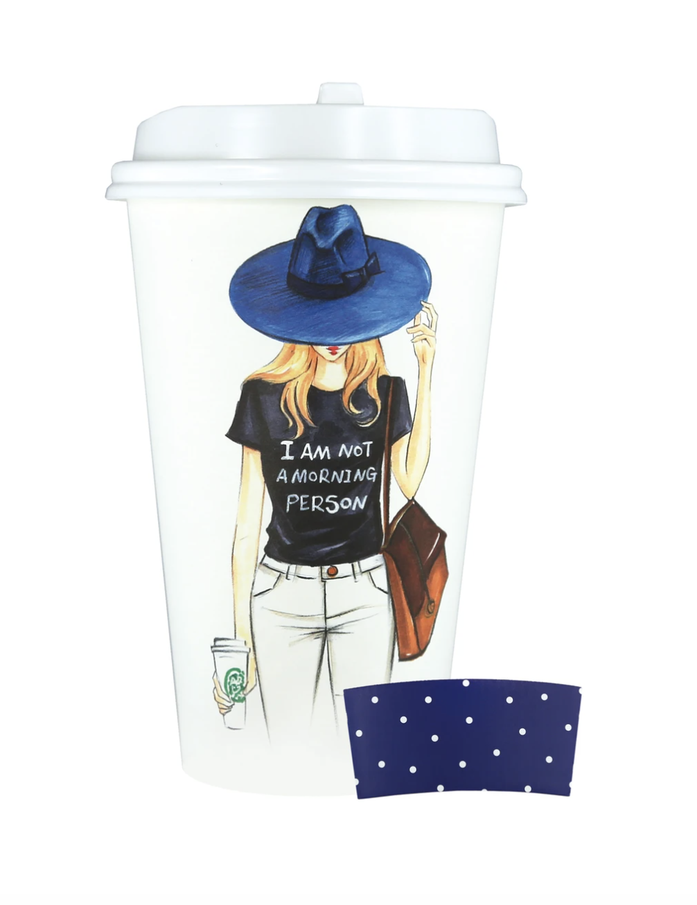 Not A Morning Person Disposable Travel Mugs