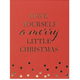 Merry Little Christmas Pocket Note