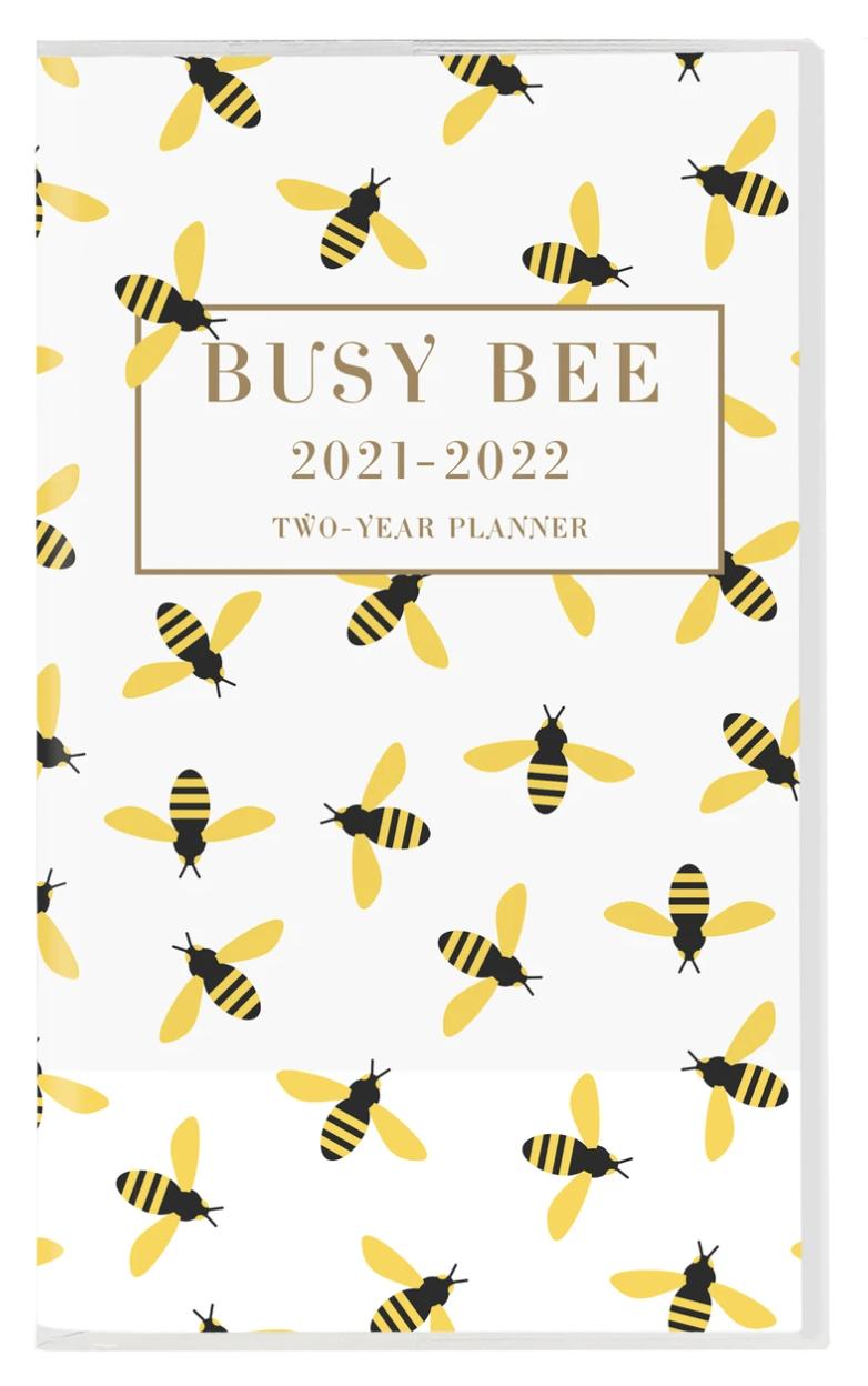 Bee pattern 2 Year Planner
