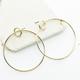 Linked Rings Earring