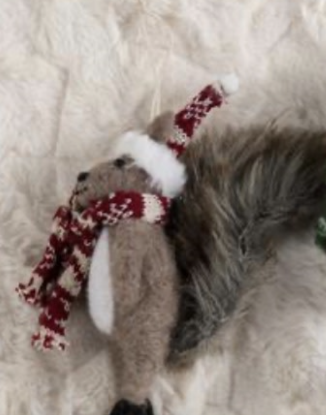 Red Squirrel Ornaments