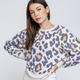 Cream Black Cheetah Sweatshirt