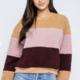 Striped Color Block Sweater