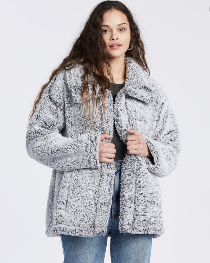 Cozy Days Sherpa Fleece jacket