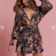 Wildflower Wrap Dress