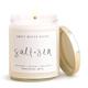 Salt and Sea Candle Clear Jar