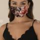 Burgundy Face Mask