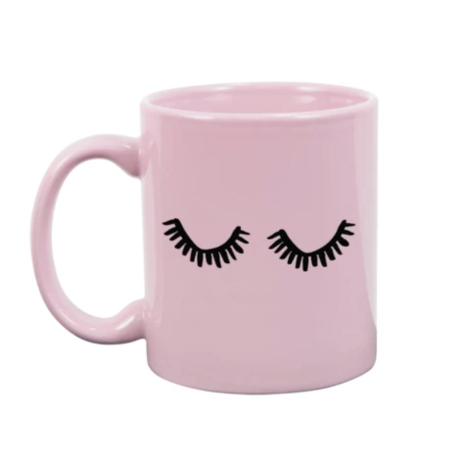 Eyelash Blush Pink Mug